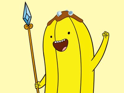 アドベンチャータイム バナナガード